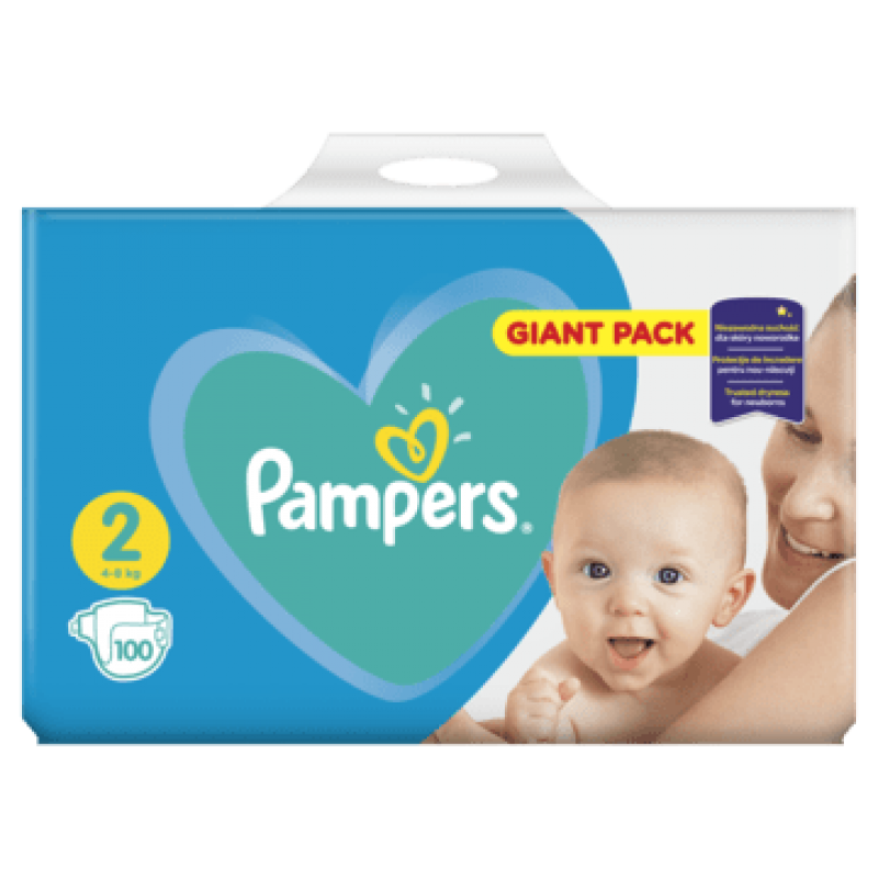 Pampers Giantpack Mini (100ks/fol)
