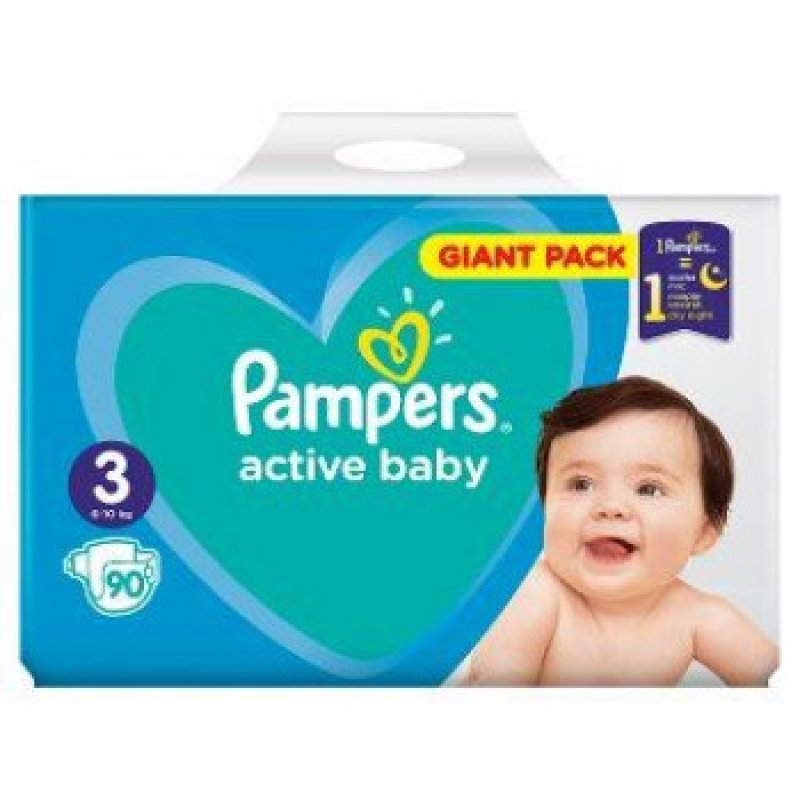 Pampers Giantpack Midi (90ks/fol)
