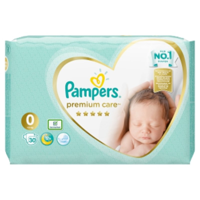 Pampers premium care 0 (30ks/fol