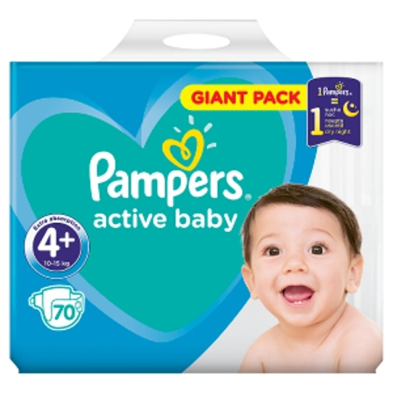 Pampers Giantpack Maxi Plus (70ks/fol)