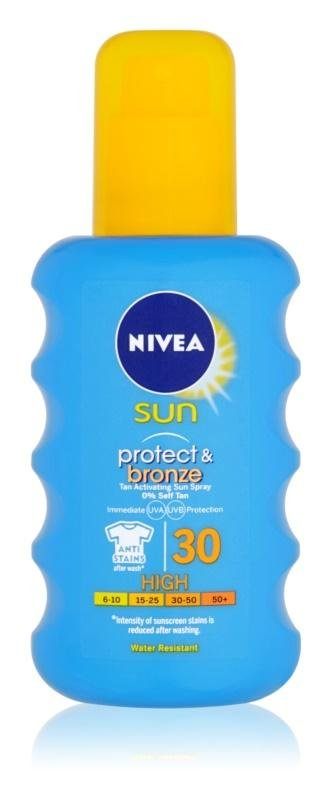 Nivea SUN  Protect&Bronze FPS 30 - 200 ml