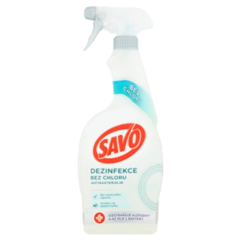 Savo Bez chloru Antibakteriál 700ml MR
